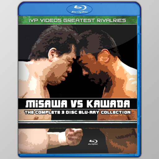 Best of Misawa vs. Kawada (3 Disc Blu-Ray)